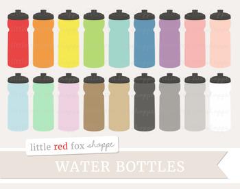 Water Bottle Clipart