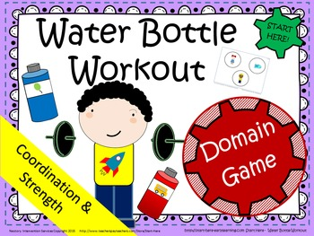 Water Bottle Workout - Cognitive & Proprioceptive Activities