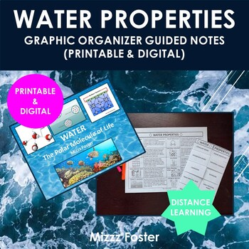 Water Bundle: Power Point and Graphic Organizer
