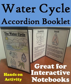 The Water Cycle Foldable: Clouds, Precipitation, Condensat