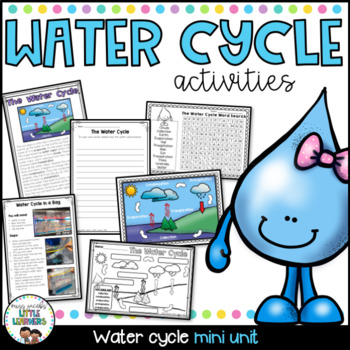 Water Cycle: A non-fiction mini unit