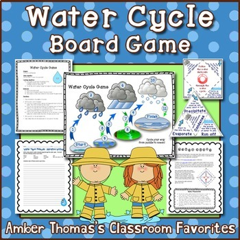 Water Cycle Board Game