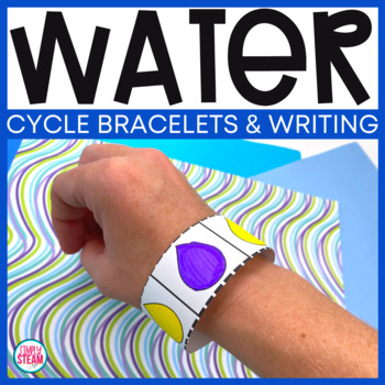 Water Cycle Craft: Water Cycle Coding Bracelet and Writing