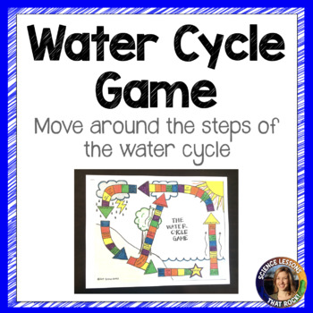 Water Cycle Game Board