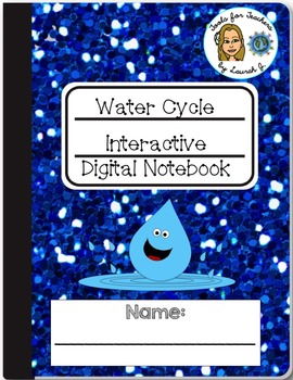 Water Cycle Interactive Digital Notebook for Google Drive