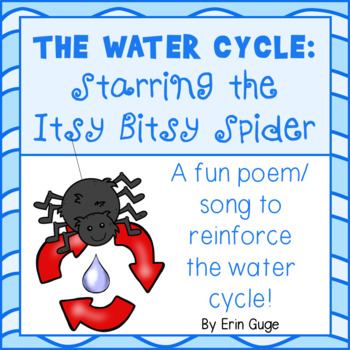 Water Cycle Poem: Starring the Itsy Bitsy Spider