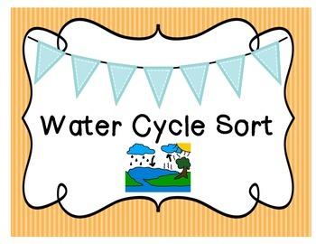 Water Cycle Sort