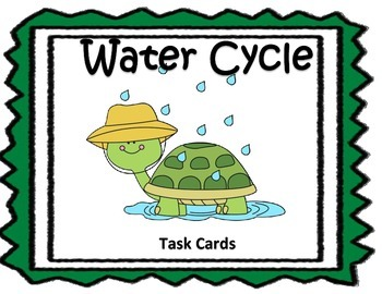 Water Cycle - Task Cards