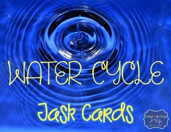 Water Cycle Task Cards {Scoot}