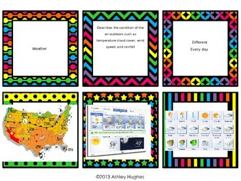 Water Cycle/Weather/Climate Review Task Cards
