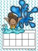 Water Fun Ten Frame Fun Activities and Printables {Aligned