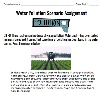 Water Pollution Scenario Group Project