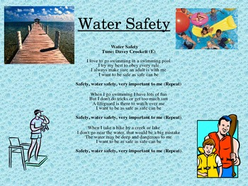 Water Safety Song