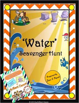 Water Scavenger Hunt