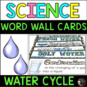 Water/Water Cycle Vocabulary Cards
