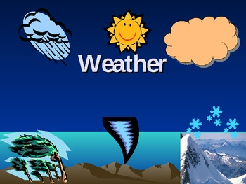 Water cycle and clouds - cirrus, cumulus, stratus