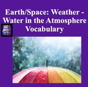 Water in the Atmosphere Vocabulary