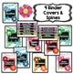 EDITABLE Binder Covers {Watercolor Blooms}
