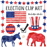 Watercolor Election Clip Art #kindnessnation #weholdthesetruths