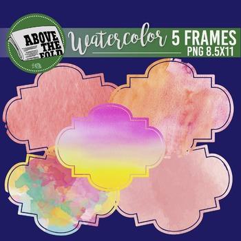 Watercolor FRAMES