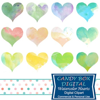 Watercolor Heart Clipart