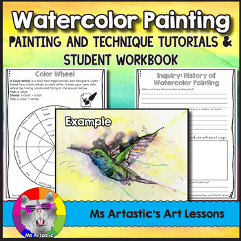 Watercolor Painting Art Lessons