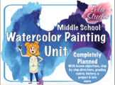 Watercolor Painting Unit
