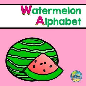 Watermelon Alphabet
