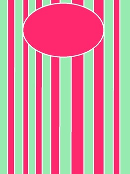 Watermelon Bubble Pink Green Cover
