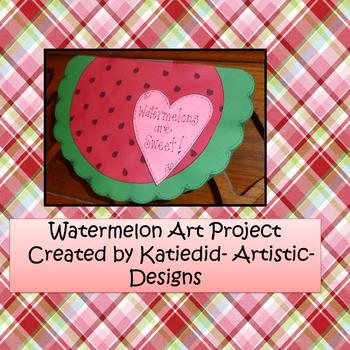 Watermelon Craft Project