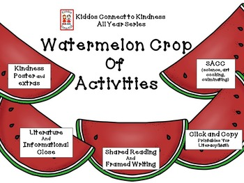 Watermelon Crop of Activities - Kiddos Connect All-Year to