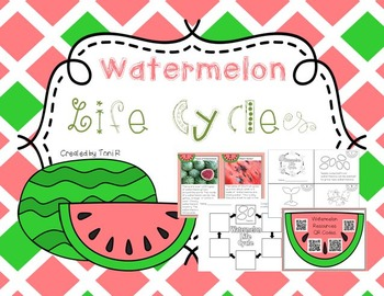Watermelon Life Cycle - Nonfiction Writing, Math, and Scie