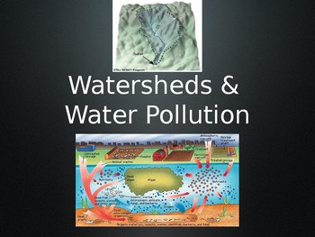 Watershed and Water Pollution Notes PowerPoint