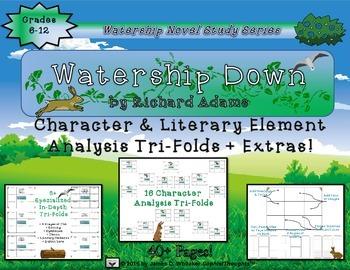 Watership Down by Richard Adams Character and Plot Analysi