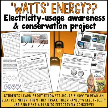 """""""Watts"""" Energy?? Electricity Awareness and Conservation Project"""