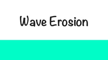 Wave Erosion Powerpoint