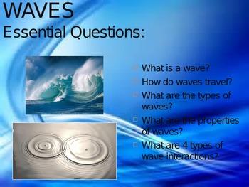 Waves PPT NC Essential Standards Grade 6