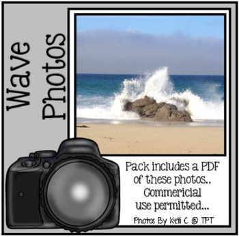 Waves Photographs for Backgrounds~ Personal or Commericial Use