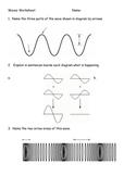 Waves Review Practice Worksheet