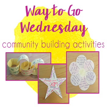 Way to Go Wednesday - Community & Team Building Activities