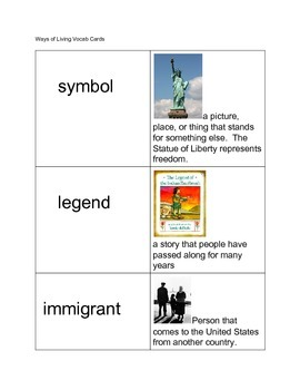 Ways of Life and Intro. to Immigration