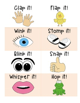 Ways to Clap Syllables