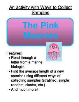 Statistics:  The Pink Meanie Investigative Task (Ways to C