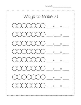 Ways to Make 7