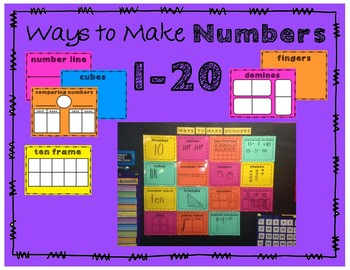 Ways to Make Numbers 1-20