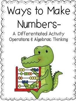 First Grade Numbers Game