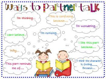 Ways to Partner Talk