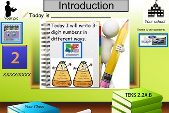 Ways to write a 3-digit number