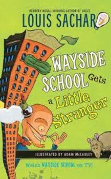 Wayside School Gets a Little Stranger Vocabulary and Compr