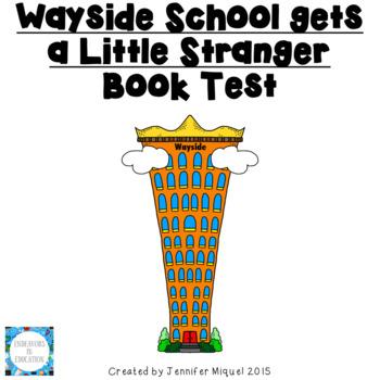 Wayside School get a Little Stranger Book Test